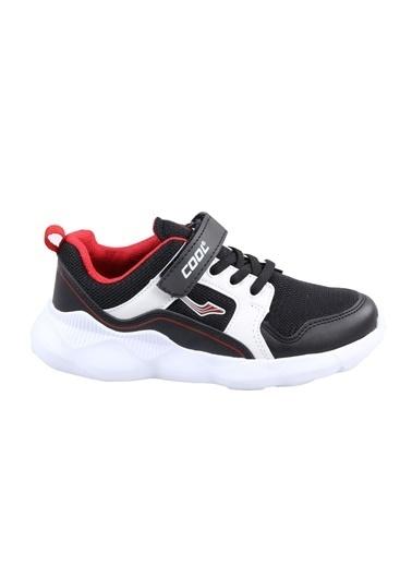 Cool Erkek Çocuk Siyah-Beyaz Günlük Spor Ayakkabı Siyah